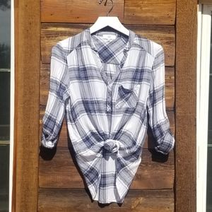 NSR Flannel Pullover w Breast Pocket & Arm Loops